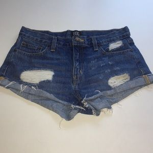 BDG distresses jean shorts